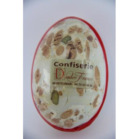 Oeufs de Pâques 125 g en Nougat de Montélimar tendre