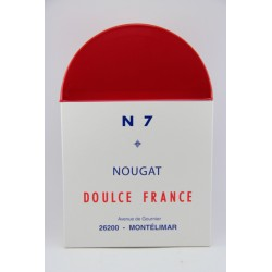Boite Borne Nationale 7 nougat tendre grand format 300 g