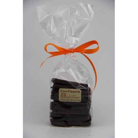 Sachet cello fond carton 200g orangettes