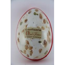 Oeufs de Pâques 250 g en Nougat de Montélimar tendre