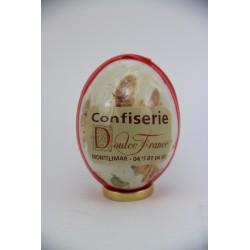 Oeufs de Pâques 50 g en Nougat de Montélimar tendre